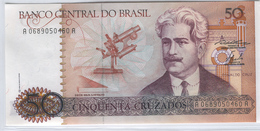 BRAZIL 210a 1986-87 50 Cruzados UNC - Brazilië