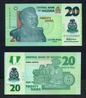 NIGERIA  -  2018  20 Naira  Polymer  UNC Banknote - Nigeria
