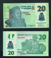 NIGERIA  -  2017  20 Naira  Polymer  UNC Banknote - Nigeria