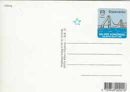 Esperanto - Sticker. 50a IFEF Congreso  Aalborg Denmark 1998  # 07530 - Old Paper