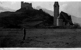 (66) Photo Chateau De Balzers 1934 (11X7cm) (Bon Etat) - Liechtenstein