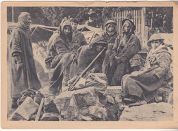 Rare Cpa  Goumiers Dans Les Vosges 1944 - 1939-45