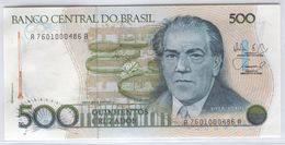 BRAZIL 212d 1986-88 500 Cruzados UNC - Brazil