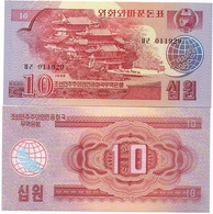 Korea North - 10 Won 1988 Pick 37 UNC Red Ukr-OP - Korea, North