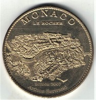 Medaille Arthus Bertrand 98.Monaco - Le Rocher 2007. Neuve - 2007