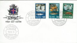 Fishing Industrie  Fdc.  Iceland  H-1361 - Fabbriche E Imprese