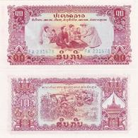 Laos - 10 Kip 1978 Pick 20a UNC Ukr-OP - Laos