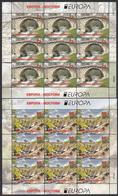 Macedonia 2018 Europa CEPT Bridges Bruecken Ponts, Architecture, Fauna, Birds, Stork, Mini Sheet MNH - 2018