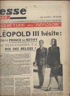 Journal La Presse Paysage Du 23 Dec 1947  Avec Un Article Sur Léopold 3 Et Les Folies Bergère - Newspapers