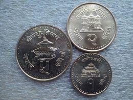 Nepal  1 - 5  Rupees    UNC - Nepal