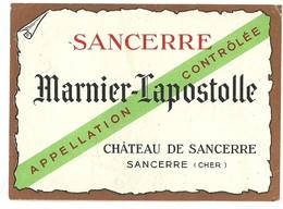 """695 """" MARNIER LAPOSTOLLE - SANCERRE  """" ETICH. ORIG - Labels"""