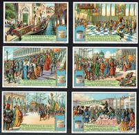 LIEBIG - FR - 6 Chromos N° 1 à 6 - Série/Reeks S 1254 - Scènes Historiques De VENISE. - Liebig