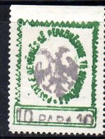 490 55 - ALBANIA 1913 ,  Indipendenza Yvert  N. 20  Nuovo Senza Gomma - Albania