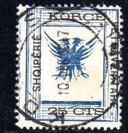 490 67 - ALBANIA 1917 ,  Koritza Yvert  N. 49  Usato  (SHQIPERIE) - Albania