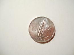 ITALIA 2 LIRE 1948 - 2 Liras