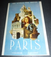 Carte Postale - Mona Lisa - La Joconde - Editions Nugeron (Tourisme) - Publicidad