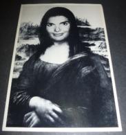 Carte Postale - Mona Lisa - La Joconde - Jackie O'Lisa - Americard (U.S.A.) - Publicidad