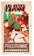 "64 - BAYONNE . PROGRAMME DES "" FÊTES DE BAYONNE "" 1948 - Réf. N°24F - - Programs"