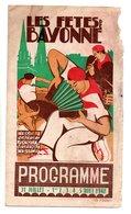 "64 - BAYONNE . PROGRAMME DES "" FÊTES DE BAYONNE "" 1948 - Réf. N°25F - - Programmes"