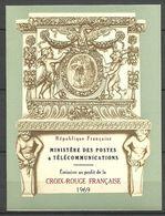 SUPERBE CARNET CROIX ROUGE De 1969 NEUF Avec GOMME** Cote +++ - Booklets