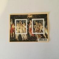 FRANCE 2010 Serie Artistique. Sandro Botticelli Peintre Italien Feuillet-M/S Superbe-MUH YvF4518 - France