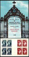 SUPERBE CARNET CROIX ROUGE De 1968 NEUF Avec GOMME** Cote +++ - Red Cross