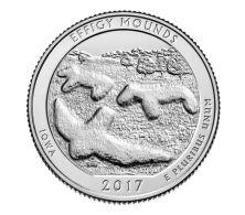 USA. 25 Cents. Quarter. 36th Park. Effidzhi-Maundz. UNC. 2017 S - Federal Issues