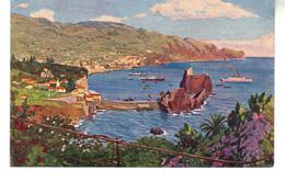 Porto De Funchal   Illustration Paolo Kutscha  - Madeira Series I - Madeira
