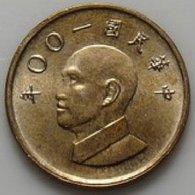 2011 Taiwan Rep China 1 Yuan NT$1.00 Chiang Kai-shek CKS Coin - Taiwan