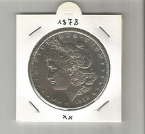 1 DOLLARO 1878 MORGAN - Emissioni Federali