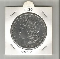 1 DOLLARO 1880 MORGAN - 1878-1921: Morgan