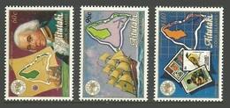 AITUTAKI COOK ISLANDS 1984 AUSIPEX OMNIBUS SHIPS EXPLORERS BLIGH BIRDS SET MNH - Aitutaki