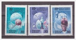 1035 Russia 1987 Ruimtevaart Space Honeybee Ostrich MNH - Space