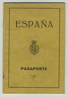 Passeport Espagnol Valable Pour La France Et L'Espagne. España. Pasaporte. Délivré à Valencia En 1930. Valence. - Documents Historiques