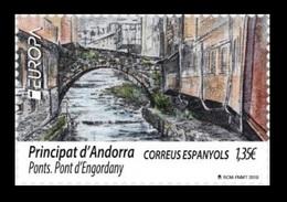 Andorra (ES) 2018 Mih. 465 Europa-Cept. Bridges. Pont D'Engordany MNH ** - Spanish Andorra