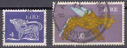 IRLANDA - IRLANDE - EIRE - 1971/1974 - Lotto 2 Valori Usati: Yvert 259 E 264a. - 1949-... Repubblica D'Irlanda