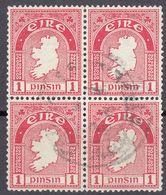 IRLANDA - IRLANDE - EIRE - 1940 - Quartina Di Yvert 79 Obliterati. - 1937-1949 Éire