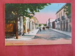 Tunisia Ferryville Rue Lockroy   - Ref 2959 - Tunesië