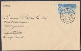 IRLANDA - IRLANDE - EIRE - 1948 - Yvert Posta Aerea 2, Obliterato, Su Porzione Di Busta. - Posta Aerea