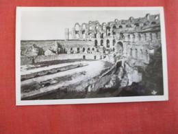 Tunisia El Djem Ruins Theater Romaines  - Ref 2959 - Tunisie