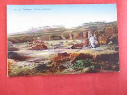 Tunisia Carthage Ruins   Romaines  - Ref 2959 - Tunisia