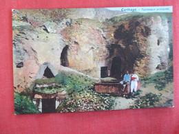 Tunisia Carthage Tombeaux Puniques - Ref 2959 - Tunisia