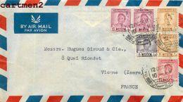 IRAQ IRAK BAGHDAD A. AGHA JAFFAR P.O. BOX 194 STAMP TIMBRE PHILATELIE AIR-MAIL - Iraq