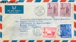 ILE MAURICE MAURITUS ISSAH HILLAHEE JUDAÏCA JUDAISME PORT-LOUIS  STAMP TIMBRE PHILATELIE AIR-MAIL - Maurice (1968-...)
