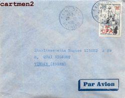 ILE DE LA REUNION SAINT-DENIS J. CHATEL SURTAXE CFA STAMP TIMBRE PHILATELIE DOM-TOM - Saint Denis