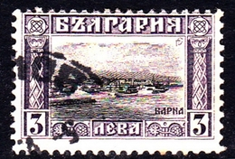 Bulgaria SG 170 1911 Definitives 3l Black And Violet, Used - 1909-45 Kingdom