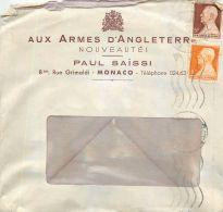 """MONACO PAUL SAÏSSI """" AUX ARMES D'ANGLETERRE """" 8 RUE GRIMALDI JUDAÏCA JEWISH SHOP JEW - Monaco"""