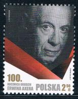 N0159 Poland 2017 Akse Birth Anniversary Flag 10417 - Famous People