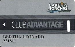 Lake Of The Torches Casino - Lac Du Flambeau, WI - Slot Card - Casino Cards