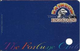 Rainbow Casino - Nekoosa, WI USA - Slot Card - Casino Cards